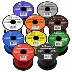 (10) SPOOLS 100' Feet 14 Gauge BOAT AUTOMOTIVE Wire Auto Power Cable