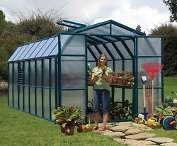 Rion Prestige 2 Twin-Wall Opaque 8'x16′ Greenhouse By Poly-Tex Model # HG7316