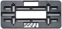 AUDI FRONT REAR LICENSE PLATE HOLDER MOUNT TAG BRACKET FOR BUMPER $8.99