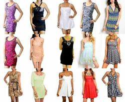 NEW Wholesale Lot Dress EXOTIC Party Tube Gown Clubwear Cocktail SEXY S M L Rave $13.05