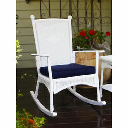 Tortuga Outdoor White Classic Rocking Chair Patio Porch Garden Accent Home Lawn