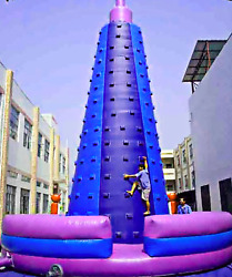 30x30x35 Commercial Inflatable Rock Climbing Tower Bounce House We Finance 100%