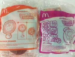 McDonalds NICKELODEON SquarePants PATRICK Spinner and SHELL Surprise NEW $15.90