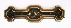 Arts & Crafts Brass Antique Hardware Vintage Cabinet Pull Drawer Pull 3