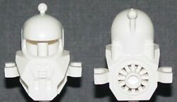 LEGO Minifig Headgear Helmet Underwater with Antenna and Clips White $5.75
