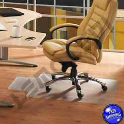 Office Chair Mat with Lip Desk Plastic for HARD FLOOR Clear Durable Roll NEW