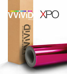 Vvivid Supercast Magenta Conform Chrome vinyl car wrap film u choose size XPO