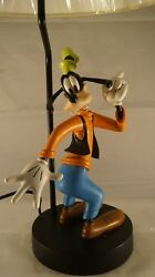 Extremely Rare Walt Disney Goofy Polyresin Statue Lamp $409.50