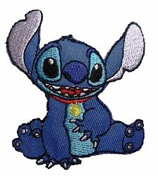 Disney Lilo amp; Stitch Movie Stitch Character Sitting Embroidered Patch 3quot; Tall $4.95