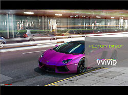 Satin Chrome Magenta cast stretch vehicle car wrap vinyl 225 sqft 45 x 5ft matte