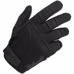 NEW BILTWELL MOTO BLACK MOTORCYCLE GLOVES HARLEY CRUISER VICTORY BOBBER ALL SIZE $29.95