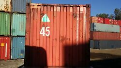 45ft HC Cargo Worthy Shipping Container in Savannah GA