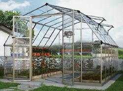 Americana Homeowner Hobby Greenhouse Kit 12ft  X 12ft Poly-tex by Palram
