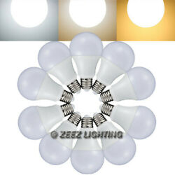 5W 7W 9W 12W LED A19 Light Bulbs Equivalent 40W 60W 75W 100W Incandescent Lamp $10.16