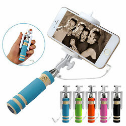 Extendable Mini Selfie Stick for iPhones amp; Android $5.99
