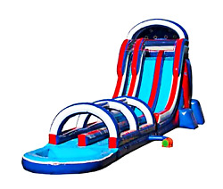 50x20x25 Commercial Inflatable Water Slide n Slip Bounce House 100% Financing