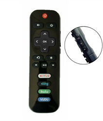 New USBRMT Replaced Remote RC280 04 for TCL ROKU TV Hulu Vudu 55US5800 65US5800 $6.92