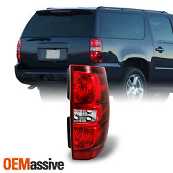 Fits 2007-2014 Tahoe Suburban Red Clear Passenger/Right Tail Lights Replacement $48.99