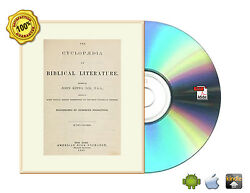 Cyclopedia of biblical literature by Kitto John; Alexander William Book On CD