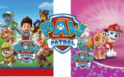 Paw Patrol Licenced Birthday Party Loot Gift Treat Bags Boys amp; Girls Decorations GBP 2.29