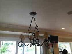 French Country Antique Chandelier $300.00