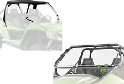 Arctic Cat WildCat Soft Top Roof Roll Back Panel Polycarbonate Flip Windshield