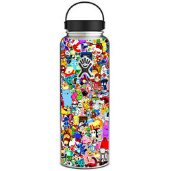 Skin Decal for Hydro Flask 40 oz Wide Mouth  Sticker collagesticker pack