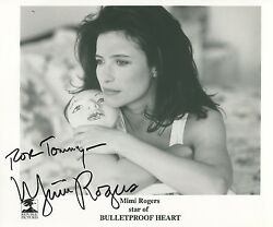 Mimi Rodgers Sexy 10x8 Photo With COA pj Inscribed To Tommy