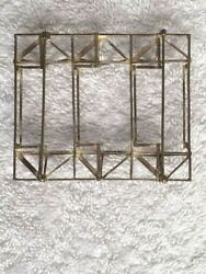 ANTON CEPKA MODERNIST SILVER ARCHITECTURAL PIN - EXCEPTIONAL - ONE OF A KIND !!!