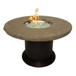 Outdoor GreatRoom Dining Table with Fire Pit CM-48-DIN-K
