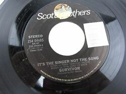 SURVIVOR High On You  It's The Singer Not The Song   7
