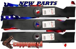 PK of 3 9907180054 173920 532180054 HD Replacement blades for Craftsman AYP