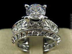 Claude Thibaudeau Engagement Ring-PLT3465-0.78CT VS1 F 18K&Pd White-ABD#1818