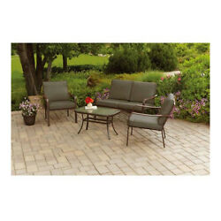 Patio Furniture Conversation Set Outdoor Table Chairs Sofa Pool Deck Porch Lawn