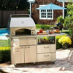 Lynx Professional Napoli 30-inch Freestanding Propane Gas Outdoor Pizza Oven On