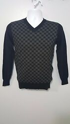 Louis Vuitton Men's Damier Graphite Pullover Size M NWT