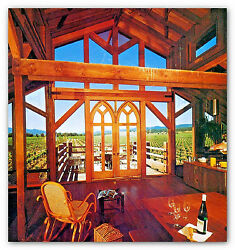 1982 VACATION HOMES PLAN & BUILD log cabin doors windows kits prefabs packages
