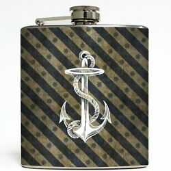 Liquid Courage Flasks - 6 oz. Stainless Steel Flask
