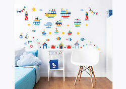 Nautical Wall Stickers for Kids bedrooms Walltastic GBP 14.99