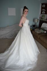 Wtoo Watters Ivory Wedding Dress Gown New With Tags Never Worn Size 2 Small $799.00