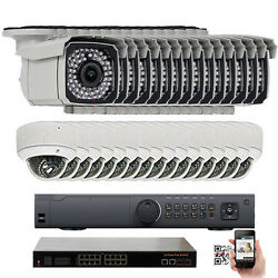 32 Channel NVR 1920P 5.0MP Indoor Outdoor PoE IP Security Camera System 2x5T HD