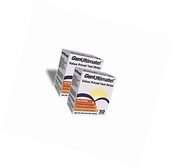 GenUltimate Value Priced Test Strips 2 Boxes of 50