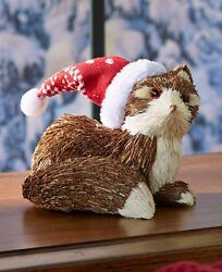 Woodland Fox Christmas Holiday Decor Country Forest Log Cabin Lodge Winter Gift