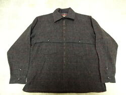 EXCELLENT COND FEW TIMES USED VINTAGE JOHNSON WOOL HUNTING JACKET MEN