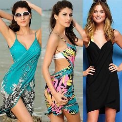Fashion Sexy Women Summer Beach Dress Bikini Swimwear Cover Up Sarong Wrap Pareo $11.22