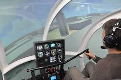 FLYIT Professional Helicopter Simulator FAA approved mobile link trainer $149159.00