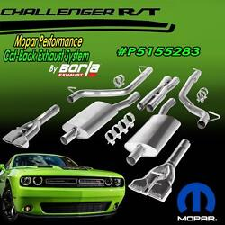 *NEW* Chrysler Mopar Borla Cat-Back Exhaust System Dodge Challenger RT P5155283