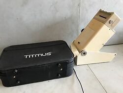 Titmus II-S Portable Vision Tester with slides and case used