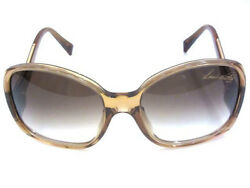 Louis Vuitton Sunglasses Gold Butterfly Simple Ladies Free Shipping Mint #0733
