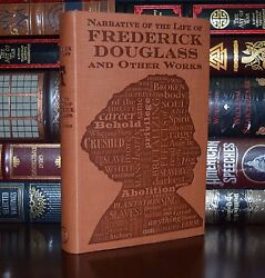 Narrative of the Life of Frederick Douglass Unabridged Deluxe Soft Leather Feel $24.90